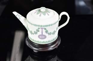 Jasperware Wedgwood Teapot Harriet C Goldweitz