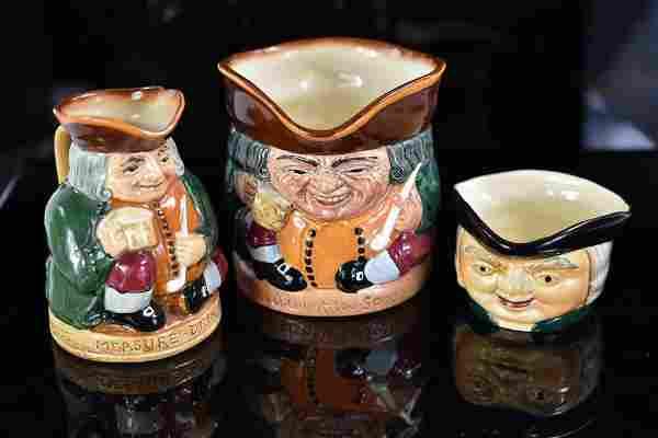 Royal Doulton / Shorter & Son Toby Mug Grouping
