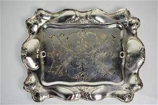 Martele Gorham Sterling Silver Asparagus Dish 1904