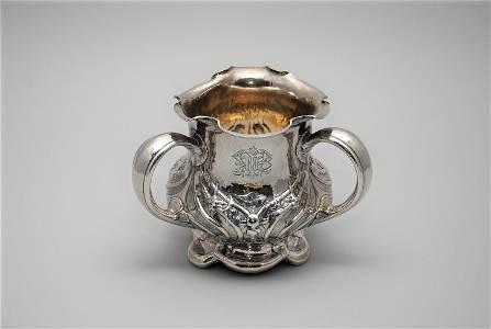 Gorham Martele .9584 Silver Loving Cup Gilt