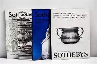 Sotheby's Silver & Objects of Virtu Catalogs