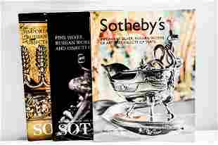 Sotheby's Silver & Russian Art Catalog Grouping