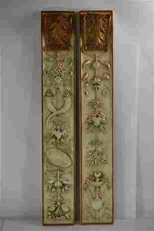 Antique French Decorative Wall Plaques