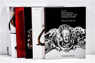 Christie's Silver Auction Catalog Grouping