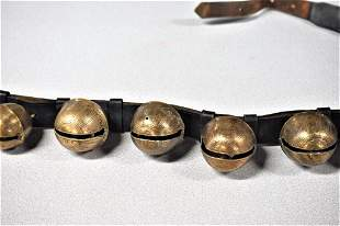 Large Antique Sleigh Bells