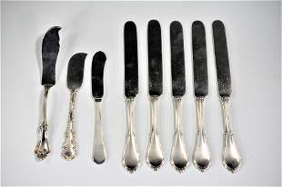 Sterling Silver Knife Grouping