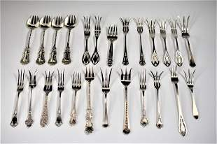 Sterling Silver Fork Grouping