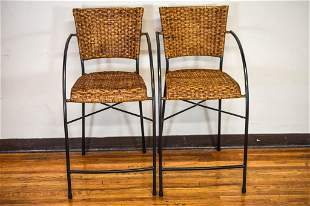 Mid-Century Modern Arthur Umanoff Style Barstools