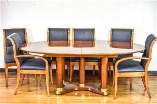 Henredon Mid Century Modern Style Dining Room Set