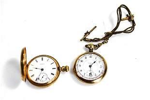 Railroad Pocket Watch Grouping