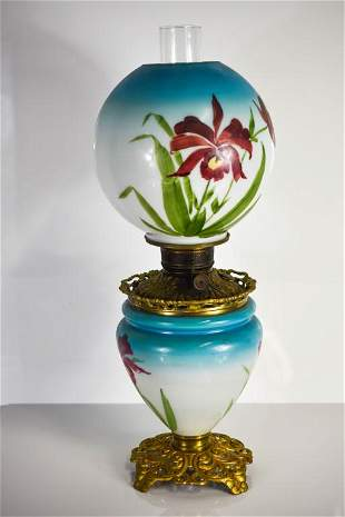 Gone With The Wind Lamp Antique