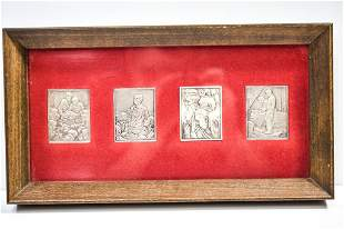 Norman Rockwell Silver Ingot Collection