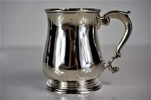 1751 Richard Bayley George II Silver Mug