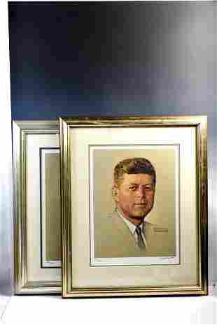 John F. Kennedy by Norman Rockwell Grouping