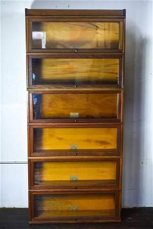 Barrister Bookcase Globe Wernicke six doors