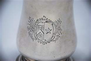 George III Silver Beer Tankard