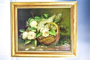 Bowdish Continental Oil on Canvas 1895