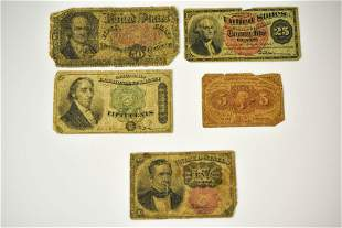 Fractional Currency Grouping