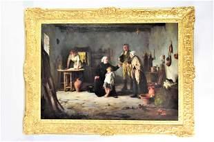 Howard Helmick (b.1845) Oil on Canvas