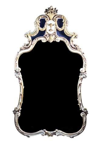 French Ornate Gilt Mirror
