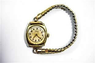 14K Gold Elgin Ladies Wrist Watch