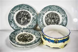Limoges Porcelain Grouping