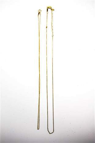 Petite 14K Gold Chain Grouping