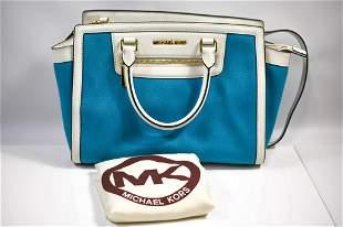 Michael Kors Leather and Canvas Hand bag