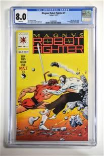 Magnus Robot Fighter #7 CGC 8.0