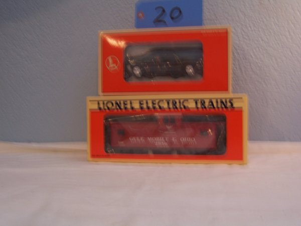 20: Lionel Caboose 19721 High Rail Vehicle 18438