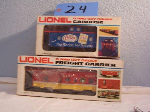 24: Lionel Cabooses 6916 9382