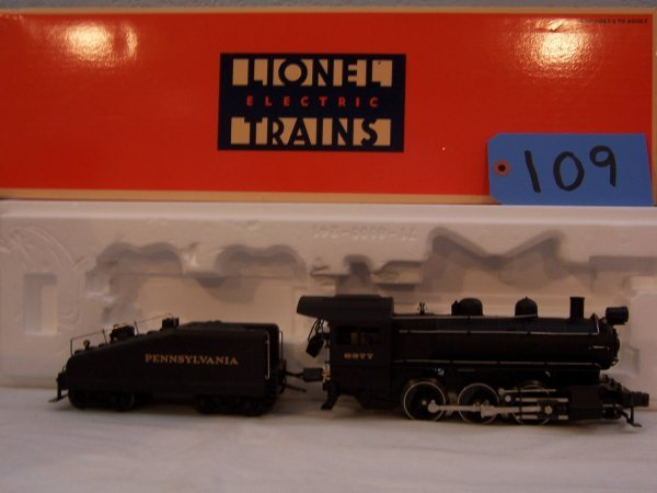 109: Lionel 18000 B-6 Switcher Loco & Tender