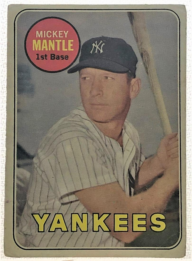 1963 MICKEY MANTLE CARD