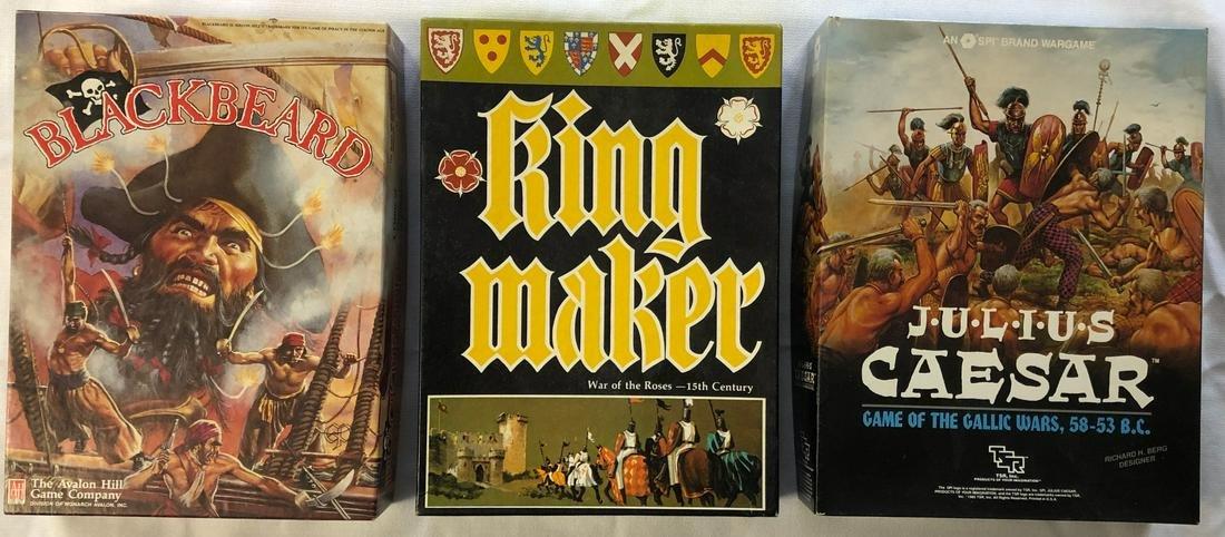 LOT 3 VINTAGE GAMES IN ORIGINAL BOXES