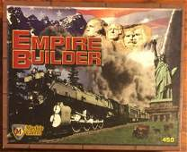VINTAGE EMPIRE BUILDER RAILROAD TRAIN GAME