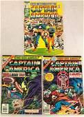LOT 3 VINTAGE CAPTAIN AMERICA ANNUALS COMIC BOOKS