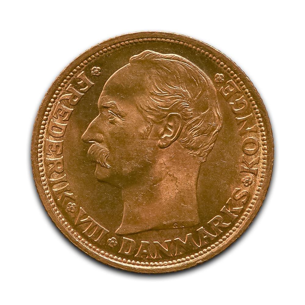 Denmark 20 kroner gold 1908-1912 Frederik VIII