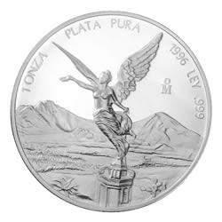 1996 1 oz Mexican Silver Libertad