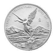 2001 1 oz Mexican Silver Libertad