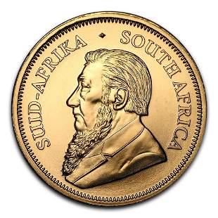 South Africa Gold Krugerrand 1 Ounce (Random Year)