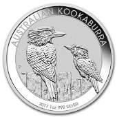 Australian Kookaburra 1 Oz. Silver 2017