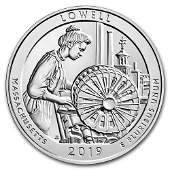 2019 Silver 5oz. Lowell National Historical Park MA ATB