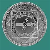 2021 Tokelau 1 oz Silver $5 Vivat Humanitas