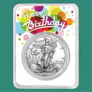 2021 1 oz Silver American Eagle - Birthday Surprise