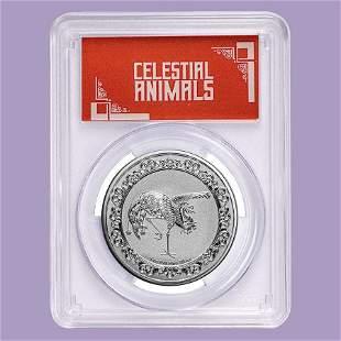 2020 Niue 1 oz Silver $2 Celestial Animal Phoenix MS-70