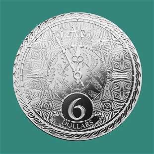2020 Tokelau 1 oz Silver $6 Chronos