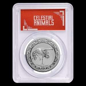 2020 Niue 1 oz Silver $2 Celestial Animal Phoenix MS-69