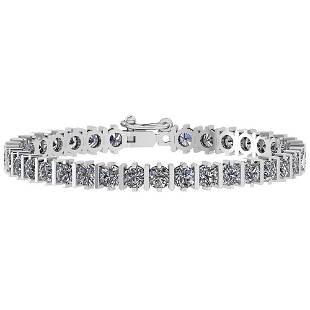 Certified 17.50 Ctw Diamond I1/I2 Valentine Style Speci