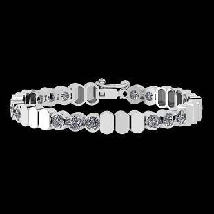 Certified 8.50 Ctw Diamond SI2/I1 Valentine Special 14K