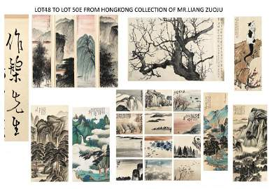 LOT48 TO LOT 50E FROM HONG KONG COLLECTION OF MR. LIANG